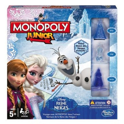 Monopoly junior version reine des neiges